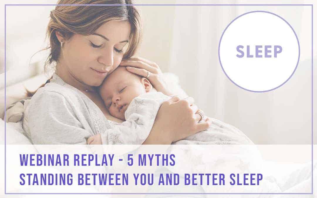 Sleep Webinar Replay November 2020