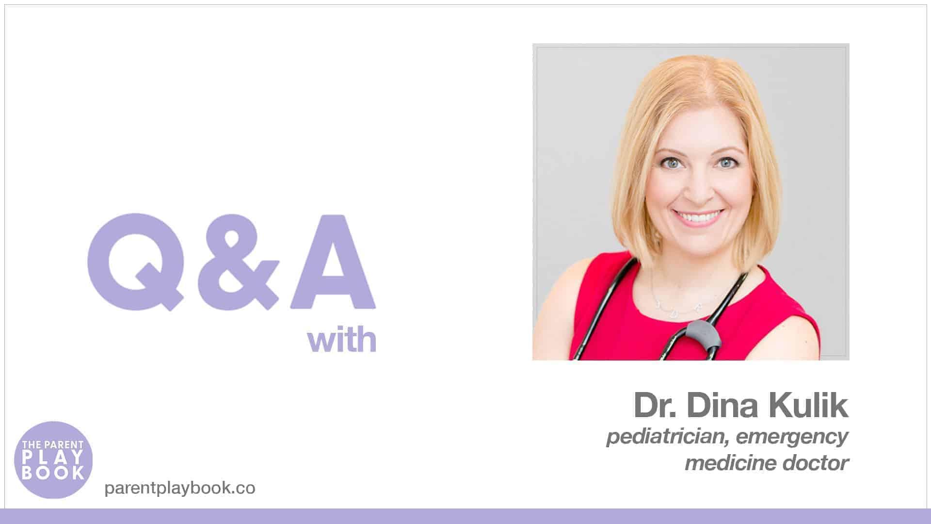 Dr Dina Kulik - Q&A Jan 7 2021
